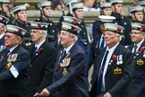 Remembrance Sunday at the Cenotaph 2015: Group E12, HMS St Vincent Association. Cenotaph, Whitehall, London SW1, London, Greater London, United Kingdom, on 08 November 2015 at 12:00, image #869
