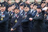 Remembrance Sunday at the Cenotaph 2015: Group E16, Type 42 Association. Cenotaph, Whitehall, London SW1, London, Greater London, United Kingdom, on 08 November 2015 at 12:00, image #886