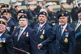 Remembrance Sunday at the Cenotaph 2015: Group E16, Type 42 Association. Cenotaph, Whitehall, London SW1, London, Greater London, United Kingdom, on 08 November 2015 at 12:00, image #888