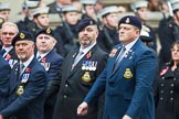 Remembrance Sunday at the Cenotaph 2015: Group E16, Type 42 Association. Cenotaph, Whitehall, London SW1, London, Greater London, United Kingdom, on 08 November 2015 at 12:00, image #889