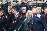 Remembrance Sunday at the Cenotaph 2015: Group E17, Queen Alexandra's Royal Naval Nursing Service. Cenotaph, Whitehall, London SW1, London, Greater London, United Kingdom, on 08 November 2015 at 12:00, image #891