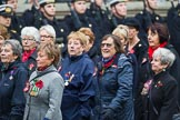 Remembrance Sunday at the Cenotaph 2015: Group E17, Queen Alexandra's Royal Naval Nursing Service. Cenotaph, Whitehall, London SW1, London, Greater London, United Kingdom, on 08 November 2015 at 12:00, image #893