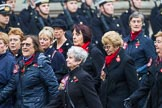 Remembrance Sunday at the Cenotaph 2015: Group E17, Queen Alexandra's Royal Naval Nursing Service. Cenotaph, Whitehall, London SW1, London, Greater London, United Kingdom, on 08 November 2015 at 12:00, image #894