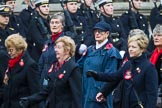 Remembrance Sunday at the Cenotaph 2015: Group E17, Queen Alexandra's Royal Naval Nursing Service. Cenotaph, Whitehall, London SW1, London, Greater London, United Kingdom, on 08 November 2015 at 12:00, image #895