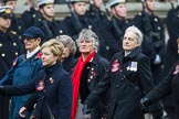 Remembrance Sunday at the Cenotaph 2015: Group E17, Queen Alexandra's Royal Naval Nursing Service. Cenotaph, Whitehall, London SW1, London, Greater London, United Kingdom, on 08 November 2015 at 12:00, image #896