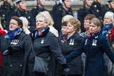 Remembrance Sunday at the Cenotaph 2015: Group E18, Association of WRENS. Cenotaph, Whitehall, London SW1, London, Greater London, United Kingdom, on 08 November 2015 at 12:01, image #900