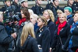 Remembrance Sunday at the Cenotaph 2015: Group E18, Association of WRENS. Cenotaph, Whitehall, London SW1, London, Greater London, United Kingdom, on 08 November 2015 at 12:01, image #902