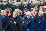 Remembrance Sunday at the Cenotaph 2015: Group E18, Association of WRENS. Cenotaph, Whitehall, London SW1, London, Greater London, United Kingdom, on 08 November 2015 at 12:01, image #908