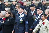 Remembrance Sunday at the Cenotaph 2015: Group E20, Royal Naval Communications Association. Cenotaph, Whitehall, London SW1, London, Greater London, United Kingdom, on 08 November 2015 at 12:01, image #914