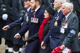 Remembrance Sunday at the Cenotaph 2015: Group E23, Yangtze Incident Association. Cenotaph, Whitehall, London SW1, London, Greater London, United Kingdom, on 08 November 2015 at 12:02, image #921