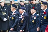 Remembrance Sunday at the Cenotaph 2015: Group E25, Submariners Association. Cenotaph, Whitehall, London SW1, London, Greater London, United Kingdom, on 08 November 2015 at 12:02, image #925