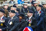 Remembrance Sunday at the Cenotaph 2015: Group E25, Submariners Association. Cenotaph, Whitehall, London SW1, London, Greater London, United Kingdom, on 08 November 2015 at 12:02, image #928