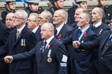 Remembrance Sunday at the Cenotaph 2015: Group E27, Broadsword Association. Cenotaph, Whitehall, London SW1, London, Greater London, United Kingdom, on 08 November 2015 at 12:02, image #945