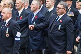 Remembrance Sunday at the Cenotaph 2015: Group E27, Broadsword Association. Cenotaph, Whitehall, London SW1, London, Greater London, United Kingdom, on 08 November 2015 at 12:02, image #946