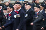 Remembrance Sunday at the Cenotaph 2015: Group E29, Aircrewmans Association. Cenotaph, Whitehall, London SW1, London, Greater London, United Kingdom, on 08 November 2015 at 12:02, image #959