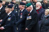 Remembrance Sunday at the Cenotaph 2015: Group E29, Aircrewmans Association. Cenotaph, Whitehall, London SW1, London, Greater London, United Kingdom, on 08 November 2015 at 12:02, image #964