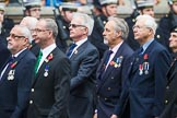 Remembrance Sunday at the Cenotaph 2015: Group E31, The Fisgard Association. Cenotaph, Whitehall, London SW1, London, Greater London, United Kingdom, on 08 November 2015 at 12:03, image #971