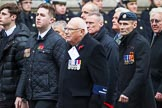 Remembrance Sunday at the Cenotaph 2015: Group E32, Fleet Air Arm Armourers Association. Cenotaph, Whitehall, London SW1, London, Greater London, United Kingdom, on 08 November 2015 at 12:03, image #973