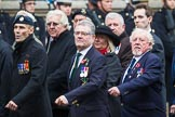 Remembrance Sunday at the Cenotaph 2015: Group E32, Fleet Air Arm Armourers Association. Cenotaph, Whitehall, London SW1, London, Greater London, United Kingdom, on 08 November 2015 at 12:03, image #975