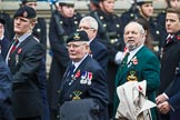 Remembrance Sunday at the Cenotaph 2015: Group E32, Fleet Air Arm Armourers Association. Cenotaph, Whitehall, London SW1, London, Greater London, United Kingdom, on 08 November 2015 at 12:03, image #977