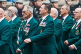 Remembrance Sunday at the Cenotaph 2015: Group E36, Fleet Air Arm Junglie Association. Cenotaph, Whitehall, London SW1, London, Greater London, United Kingdom, on 08 November 2015 at 12:03, image #991