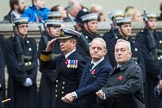 Remembrance Sunday at the Cenotaph 2015: Group E37, Fleet Air Arm Officers Association. Cenotaph, Whitehall, London SW1, London, Greater London, United Kingdom, on 08 November 2015 at 12:03, image #995