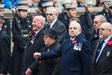 Remembrance Sunday at the Cenotaph 2015: Group E38, Fleet Air Arm Safety Equipment & Survival Association. Cenotaph, Whitehall, London SW1, London, Greater London, United Kingdom, on 08 November 2015 at 12:03, image #999