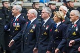 Remembrance Sunday at the Cenotaph 2015: Group E39, Royal Navy School of Physical Training. Cenotaph, Whitehall, London SW1, London, Greater London, United Kingdom, on 08 November 2015 at 12:03, image #1005