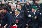 Remembrance Sunday at the Cenotaph 2015: Group F3, Burma Star Association. Cenotaph, Whitehall, London SW1, London, Greater London, United Kingdom, on 08 November 2015 at 12:04, image #1016
