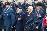 Remembrance Sunday at the Cenotaph 2015: Group F6, Pen and Sword Club. Cenotaph, Whitehall, London SW1, London, Greater London, United Kingdom, on 08 November 2015 at 12:04, image #1029