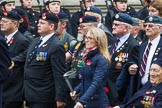 Remembrance Sunday at the Cenotaph 2015: Group F7, TRBL Ex-Service Members. Cenotaph, Whitehall, London SW1, London, Greater London, United Kingdom, on 08 November 2015 at 12:04, image #1031
