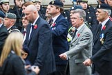 Remembrance Sunday at the Cenotaph 2015: Group F7, TRBL Ex-Service Members. Cenotaph, Whitehall, London SW1, London, Greater London, United Kingdom, on 08 November 2015 at 12:04, image #1032