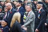 Remembrance Sunday at the Cenotaph 2015: Group F7, TRBL Ex-Service Members. Cenotaph, Whitehall, London SW1, London, Greater London, United Kingdom, on 08 November 2015 at 12:04, image #1033