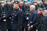 Remembrance Sunday at the Cenotaph 2015: Group F7, TRBL Ex-Service Members. Cenotaph, Whitehall, London SW1, London, Greater London, United Kingdom, on 08 November 2015 at 12:04, image #1034
