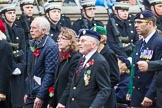 Remembrance Sunday at the Cenotaph 2015: Group F7, TRBL Ex-Service Members. Cenotaph, Whitehall, London SW1, London, Greater London, United Kingdom, on 08 November 2015 at 12:04, image #1035