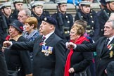 Remembrance Sunday at the Cenotaph 2015: Group F7, TRBL Ex-Service Members. Cenotaph, Whitehall, London SW1, London, Greater London, United Kingdom, on 08 November 2015 at 12:04, image #1037