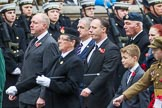 Remembrance Sunday at the Cenotaph 2015: Group F7, TRBL Ex-Service Members. Cenotaph, Whitehall, London SW1, London, Greater London, United Kingdom, on 08 November 2015 at 12:04, image #1040