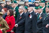 Remembrance Sunday at the Cenotaph 2015: Group F7, TRBL Ex-Service Members. Cenotaph, Whitehall, London SW1, London, Greater London, United Kingdom, on 08 November 2015 at 12:04, image #1042
