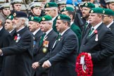 Remembrance Sunday at the Cenotaph 2015: Group F7, TRBL Ex-Service Members. Cenotaph, Whitehall, London SW1, London, Greater London, United Kingdom, on 08 November 2015 at 12:04, image #1043