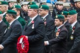 Remembrance Sunday at the Cenotaph 2015: Group F7, TRBL Ex-Service Members. Cenotaph, Whitehall, London SW1, London, Greater London, United Kingdom, on 08 November 2015 at 12:04, image #1044