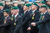 Remembrance Sunday at the Cenotaph 2015: Group F7, TRBL Ex-Service Members. Cenotaph, Whitehall, London SW1, London, Greater London, United Kingdom, on 08 November 2015 at 12:04, image #1045