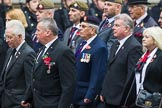 Remembrance Sunday at the Cenotaph 2015: Group F7, TRBL Ex-Service Members. Cenotaph, Whitehall, London SW1, London, Greater London, United Kingdom, on 08 November 2015 at 12:04, image #1050