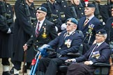Remembrance Sunday at the Cenotaph 2015: Group F16, National Gulf Veterans & Families Association. Cenotaph, Whitehall, London SW1, London, Greater London, United Kingdom, on 08 November 2015 at 12:06, image #1081