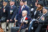 Remembrance Sunday at the Cenotaph 2015: Group F16, National Gulf Veterans & Families Association. Cenotaph, Whitehall, London SW1, London, Greater London, United Kingdom, on 08 November 2015 at 12:06, image #1084