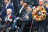 Remembrance Sunday at the Cenotaph 2015: Group F16, National Gulf Veterans & Families Association. Cenotaph, Whitehall, London SW1, London, Greater London, United Kingdom, on 08 November 2015 at 12:06, image #1085