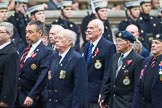 Remembrance Sunday at the Cenotaph 2015: Group F16, National Gulf Veterans & Families Association. Cenotaph, Whitehall, London SW1, London, Greater London, United Kingdom, on 08 November 2015 at 12:06, image #1088
