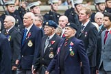 Remembrance Sunday at the Cenotaph 2015: Group F16, National Gulf Veterans & Families Association. Cenotaph, Whitehall, London SW1, London, Greater London, United Kingdom, on 08 November 2015 at 12:06, image #1089
