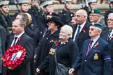 Remembrance Sunday at the Cenotaph 2015: Group F17, Fellowship of the Services. Cenotaph, Whitehall, London SW1, London, Greater London, United Kingdom, on 08 November 2015 at 12:06, image #1091