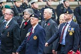 Remembrance Sunday at the Cenotaph 2015: Group F17, Fellowship of the Services. Cenotaph, Whitehall, London SW1, London, Greater London, United Kingdom, on 08 November 2015 at 12:06, image #1093