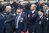 Remembrance Sunday at the Cenotaph 2015: Group F17, Fellowship of the Services. Cenotaph, Whitehall, London SW1, London, Greater London, United Kingdom, on 08 November 2015 at 12:06, image #1094